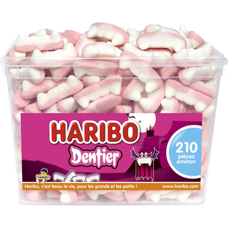 bonbon halloween dentier